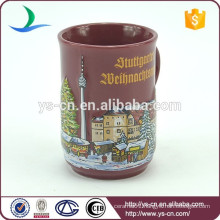 YScc0013-01 Lively Castle Pattern Mug Custom For Kids