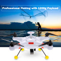 Quadcopter di pesca professionale con Despenser dell'esca