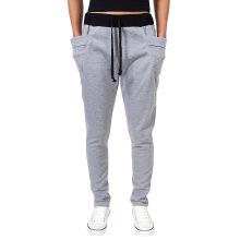Pantalones deportivos de algodón de los hombres OEM Pantalones deportivos de deporte de moda