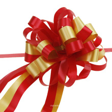 Wholesale Price Ribbon Bow New Pull Flower Custom Bow Flower for Holiday Decoration