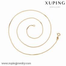 42626 -Xuping Jewelry Fashion haute qualité et collier de vente chaude avec plaqué or