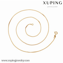 42626 -Xuping Jewelry Fashion High Quality and Hot Sale Necklace With Gold Plated