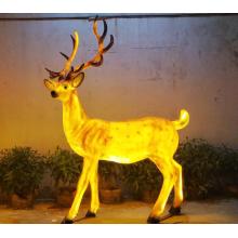 Simulation Männliche Sika Deer Lights