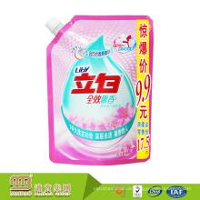 One-Stop-Lösung Paket benutzerdefinierte Druck selbststehende Reinigungsmittel Flüssigseife Spout Taschen zum Waschen