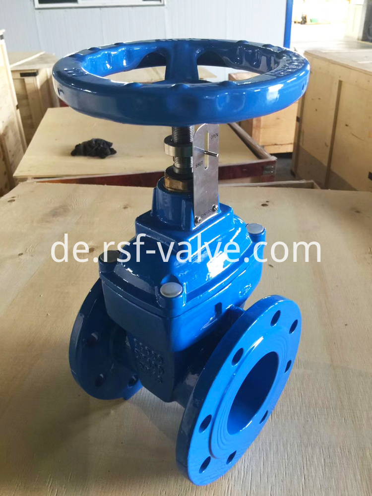 Resilient Gate Valve With Position Indicator