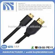 5m Hot Sell Premium 1.4v Micro HDMI à HDMI Câble mâle à mâle