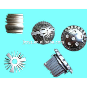 OEM de Shenzhen fundición de aluminio llevó las tazas de disipador de calor
