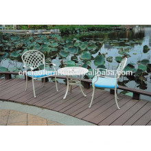 Color dot cast aluminum furniture