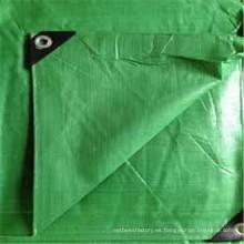 Fabricamos la lona verde clara de la fábrica PE de China