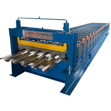 Galvanized steel deck roll roll membentuk mesin