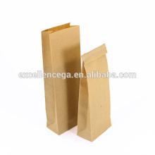 Sac en papier kraft côté classique gousset