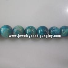 new green blue ball shape fresh water shell
