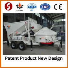 China Melhor qualidade MB1200 Pequena Fábrica de Betão Betão para venda, 10-16m3 / h, como Fibo