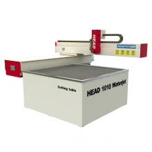China HEAD 1000mm*1000mm cnc mini waterjet cutting machine