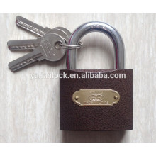 Arc type double dotted keyway padlock