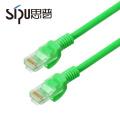 SIPU 7/0.12 cca pvc multiple colors cat5e communication utp patch cord cable