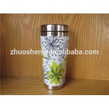 fashionable product wholesale alibaba china stainless steel white ceramic coffee mug