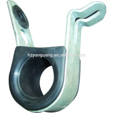 Suspension cable clamp Electric line support brackets hot-dip galvanizing OPGW ADSS overhead lines accessories
