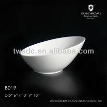 Tazón de fuente manicura porcelana de restaurante