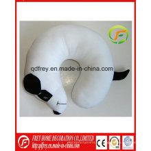 Белая Собака Плюшевые Игрушки Подушка Подушка Шеи