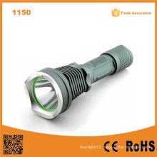 1150 10W 500 Lumens Aluminum Rechargeable Flashlight