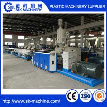 Ligne de production de ligne d'extrusion de tuyaux en plastique HDPE Machine de fabrication de tuyaux PE