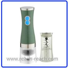 Molino de cocina, sal & pimienta molino con el abrelatas de frasco (R-6010)
