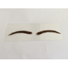 wholesale factory price hand made lace or PU different type fake eyebrow