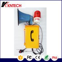 Öffentliche Ankündigung Telefone 15W Lautsprecheranzeige Knsp-08L Kntech