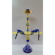Vente en gros Tuyau fumant en fer à repasser à haute qualité Shisha Hookah