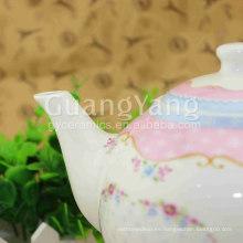 Juego de té persa de cerámica de tamaño personalizado