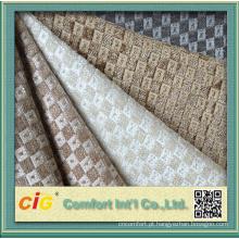 Estofamento de couro artificial do couro do pvc do couro do sofá 2016