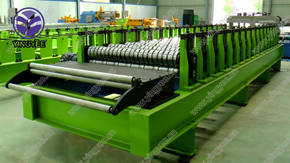 Glazed Roof Roll Forming Machine From Yingyee08