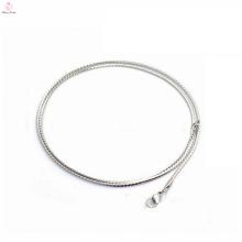 """Neueste Mode 1,4 mm Breite 20 """"Länge Edelstahl S Form weibliche Halskette, Halskette Großhandel"""