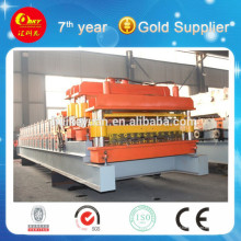 Rolo de chapa de parede de aço colorido formadora de linha de máquina que faz material de construção (HKY)