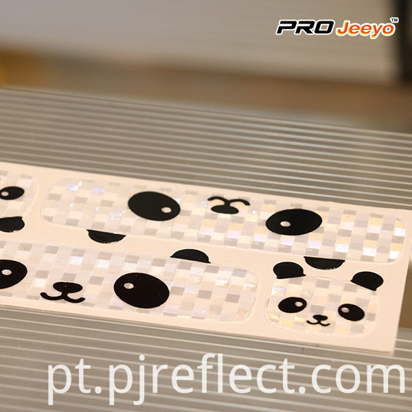soft adhesive Panda patches for Cycling
