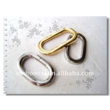 Bague ovale en métal