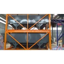 Silo de cemento horizontal apilable para exportación