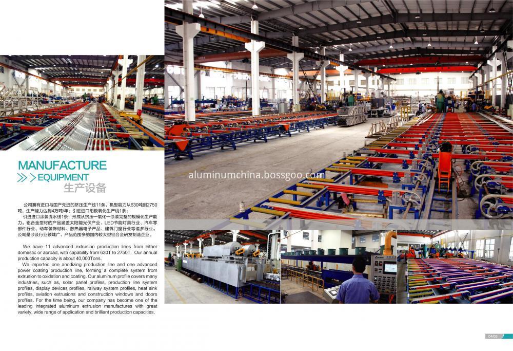 Aluminum Profile Extrusion Line