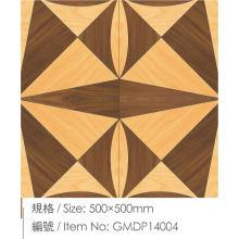 Varios suelos de madera contrachapada de parquet elegante