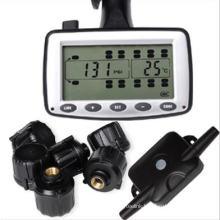Live Tire Pressure and Temperature Monitoring Solution