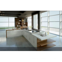 SKB2244 High Gloss Laquer Kitchen Cupboard White Color Modern Style Modular Kitchen Cabinets Design Italian Kitchen Cabinet