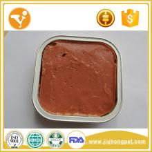 Comida para gatos Halal Carne de vaca fresca Comida para gatos húmedos saludables