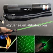 5mW 532nm poder forte alta potência recarregável ponteiro laser verde