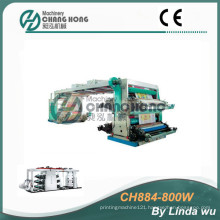 4 Color PP Woven Bag Flexo Printing Machine (CH884-800W)