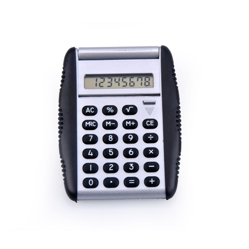 Pocket Calculator with Flip Cover