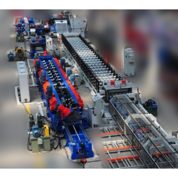 Decking Steel Floor Cold Roll Forming Line