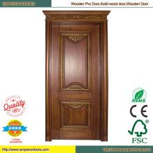 Painted Wood Door Red Wood Door Cherry Wood Door
