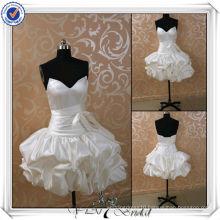 JJ3502 Real Sample J3501 Newest Real Sample Silk Satiny Short Country Wedding dresses