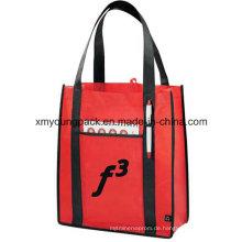 Werbe-Non-Woven-Konvention Tote Bag